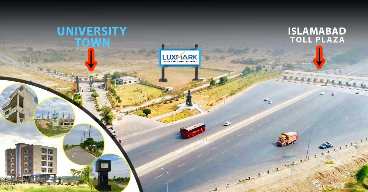 University Town Islamabad Location